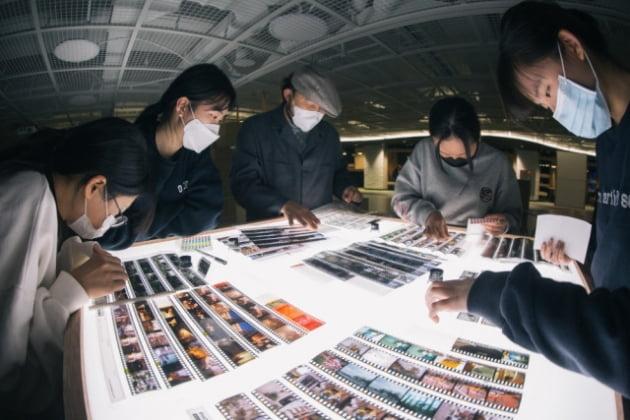 서울예술교육센터 용산이 운영한 '사진기 들고 어슬렁' 프로그램. 사진 제공=서울예술교육센터