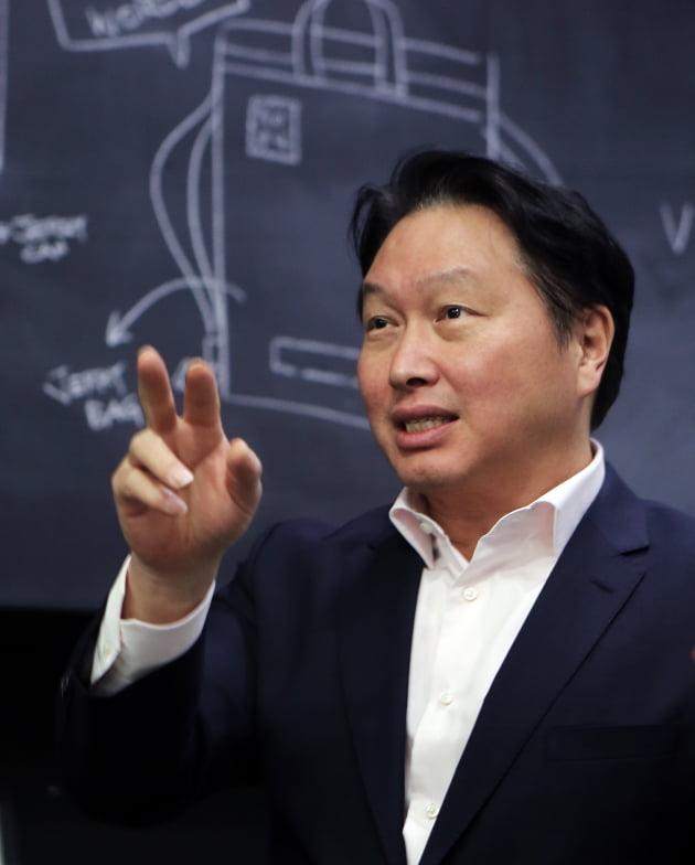 (사진) 최태원 SK 회장. /SK(주) 제공
