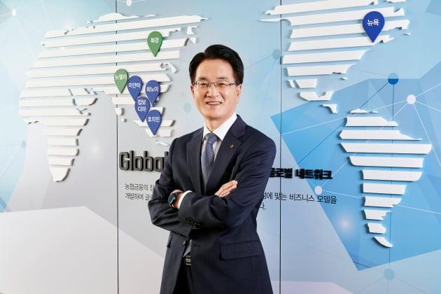 (사진) 손병환 NH농협금융 회장. /NH농협금융 제공