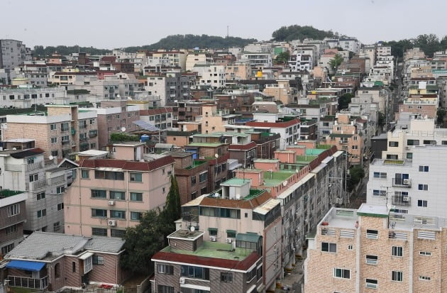 서울의 한 빌라 밀집 지역. /한국경제신문