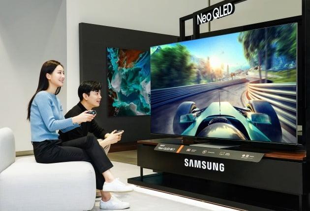 삼성전자의 2021년 QLED TV 신제품인 네오(Neo) QLED TV. /삼성전자 제공