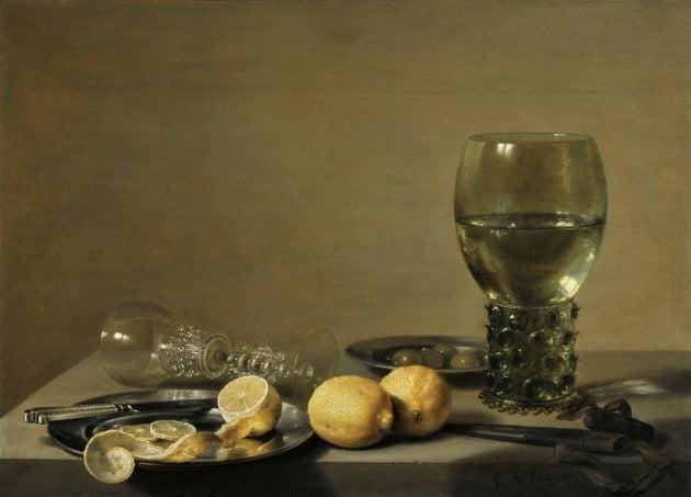 피터 클라스존, '정물', 1629년, 개인 소장