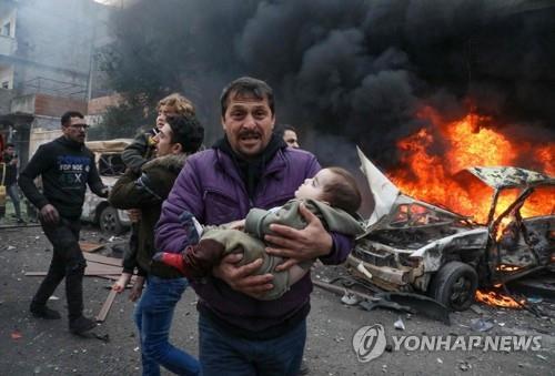 시리아 북부서 이틀 연속 차량 폭탄 테러…20명 사망
