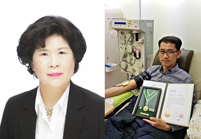 26년 민화강사·314회 헌혈왕…충주 '2월 화제의 인물' 뽑혀