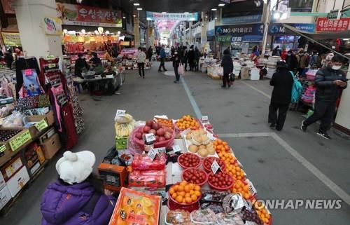 """""""맛집인데도 하루 5만원 매출""""…설대목 실종된 청주 육거리시장"""