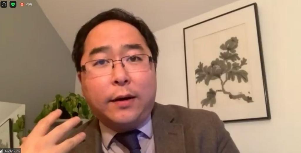 """미 의원 앤디 김 """"한국, 미국에 도구 아닌 전략적 동맹의 중심"""""""