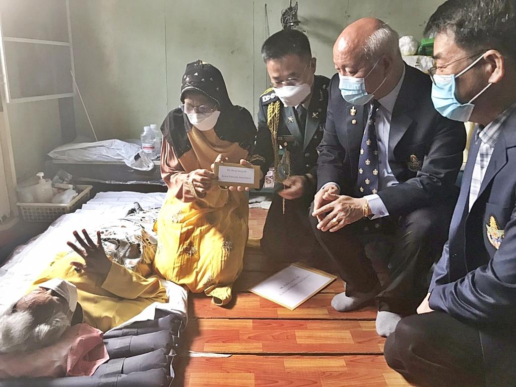 태국 한인사회, 설 맞아 한국전 참전용사들에 '한국의 情' 전해