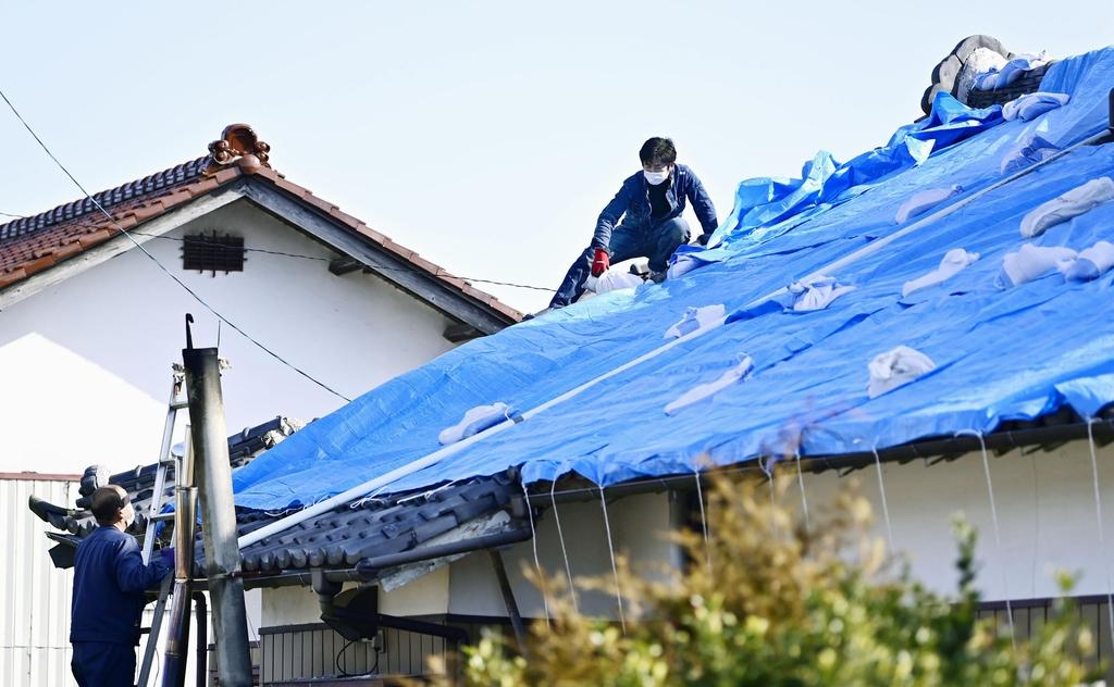 설상가상 일본, 지진피난소 방역 과제…폭우에 2차 피해 우려