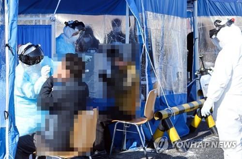 대전 한밭체육관 선별진료소 17일까지만 운영…이후는 보건소로