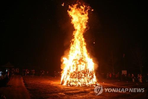 """""""코로나 방역이 우선"""" 충북 대보름행사 2년 연속 줄취소"""