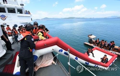 """""""해양사고 이렇게 대처해요""""…전북교육청, 해양 안전체험관 운영"""
