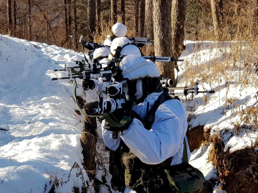육군 7사단 화천 일대서 24일부터 혹한기 훈련