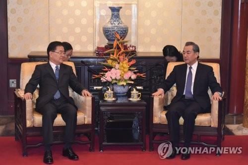 중국, 한중 외교장관 통화 관련 '시진핑 방한' 언급 없어