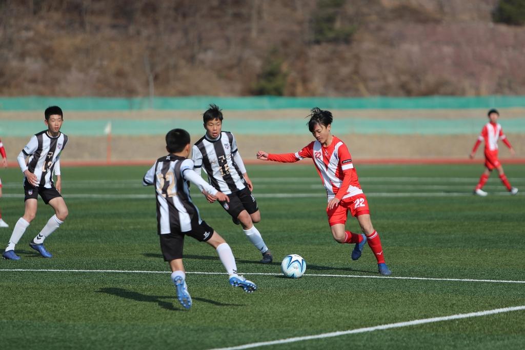 초·중·고·대학 40개팀 1천200명 영덕서 겨울 전지훈련