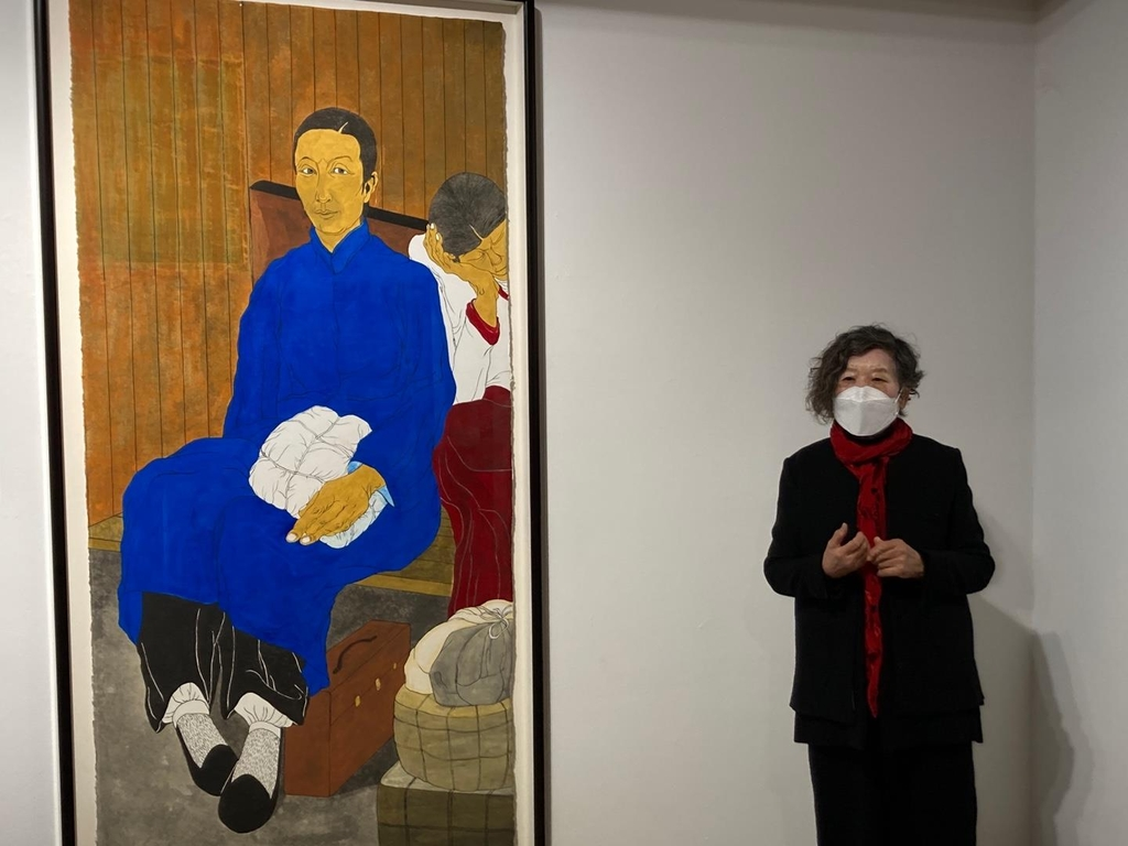 윤석남이 초상으로 되살린 여성독립운동가들