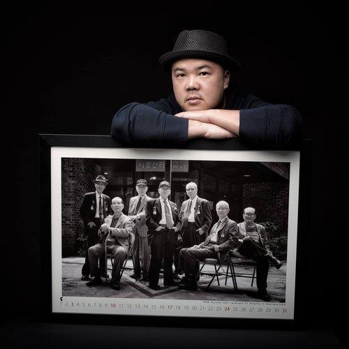 사진작가 라미 현, 남양주서 6·25 참전용사 촬영