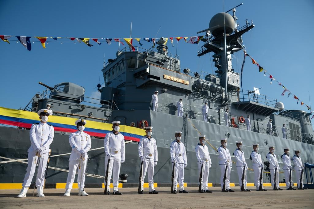 남미 해상서 '제2의 임무' 맡은 우리 퇴역함 3척