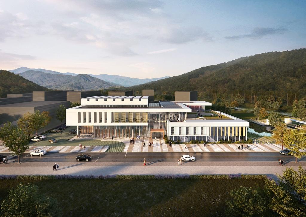 괴산군 반다비국민체육센터 건립…2023년 5월 준공