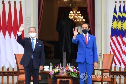 """""""미얀마 사태 아세안이 대응하자""""…인도네시아, 팔 걷어"""