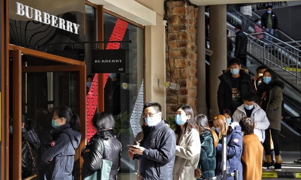전세계 코로나 사태 속 중국 설 연휴 내수 '대박'
