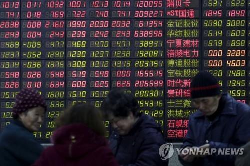 춘제 연휴 끝 다시 열린 중국 증시 혼조 마감(종합)