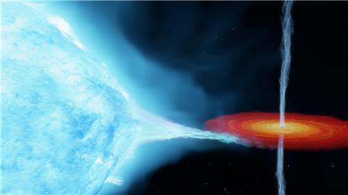 """""""인류 최초 발견 블랙홀, 기존 가설보다 더 멀리 있고 무겁다"""""""