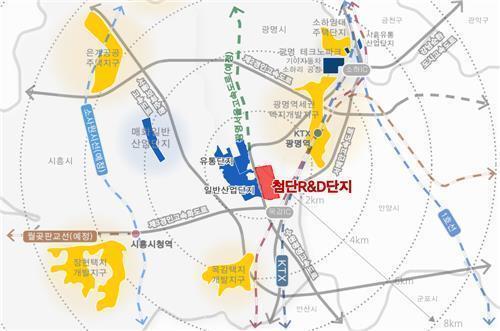 광명시흥테크노밸리 조성 잰걸음…올해 안 착공·2024년 완공