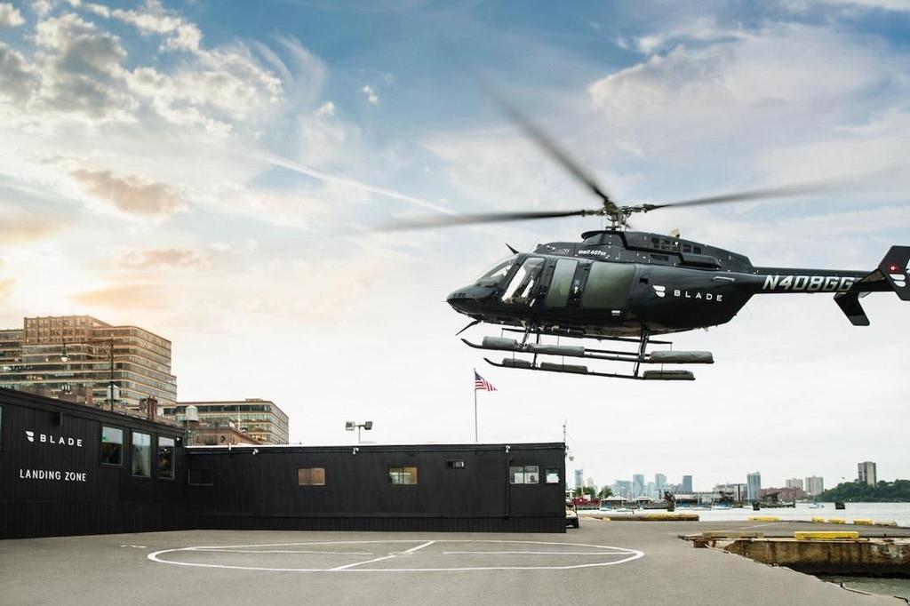 시카고에도 '헬기 택시' 등장한다…미국 공유시장 확대