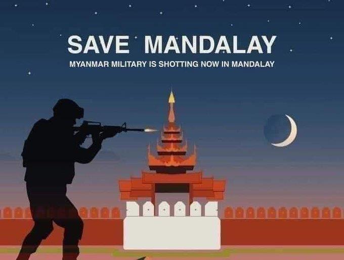 사상자 낸 미얀마 군경 무차별 총격 공포·충격, SNS에 고스란히