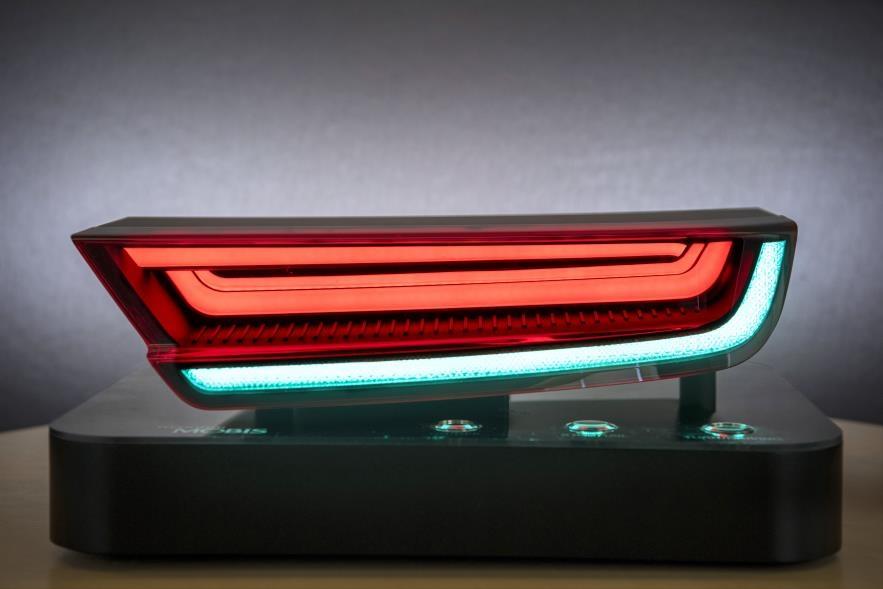 '정지등·후미등을 하나의 LED로'…현대모비스 최초 개발
