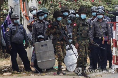 미얀마 유혈사태 악화일로…쿠데타 이후 4명 사망·100여명 부상