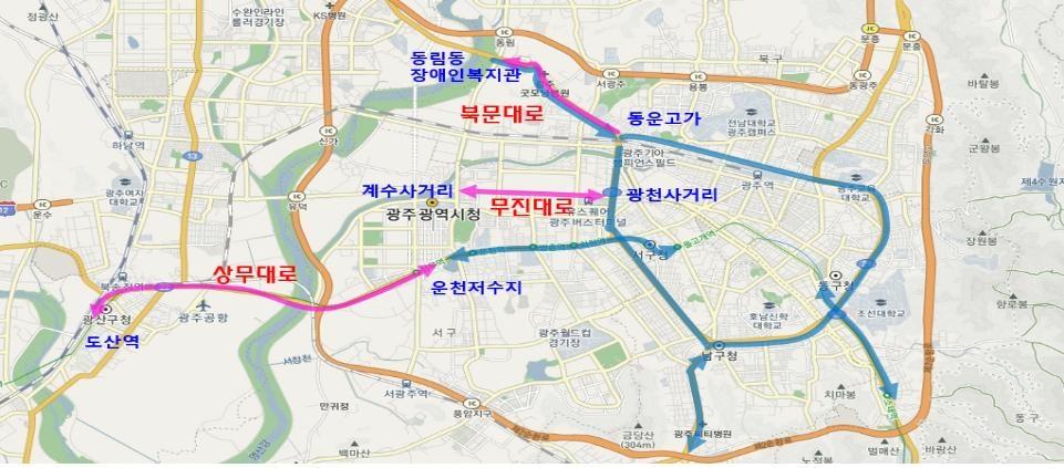 광주 버스전용차로 확대…노선 8→11개·47→67㎞
