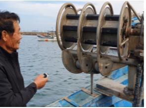 어선 그물 올리는 기계 끼임 사고 예방 장치 개발