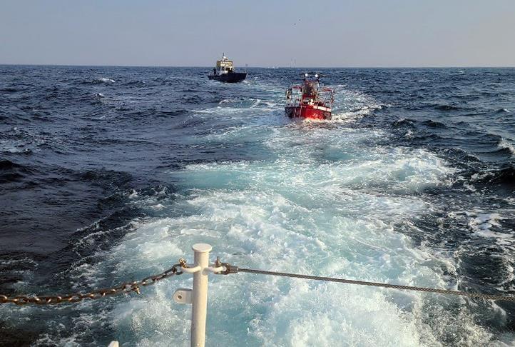 속초해경, 해양 레저활동 안전사고 주의 당부