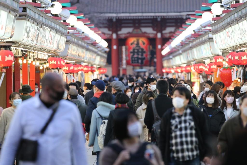 일본 코로나 신규 확진 740명…일주일만에 1천명 미만