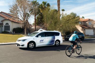 현대차 모셔널 자율주행차, 운전자 없이 미국 일반도로 달렸다