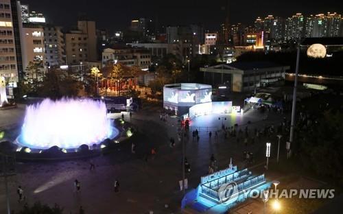 유네스코 창의 도시 광주, 미디어아트로 밤길 밝힌다