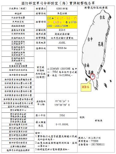 대만, 中 공중압박에 대공사격 훈련으로 '맞불'