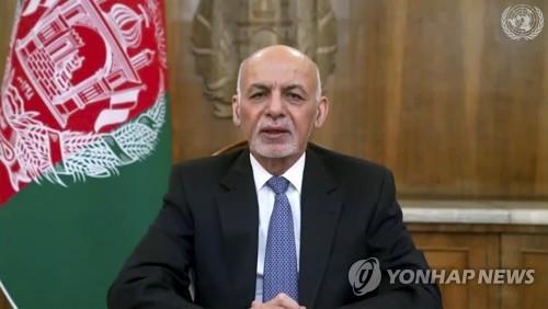 """아프간 대통령 """"여기는 베트남 아냐. 정부 무너지고 있지 않아"""""""