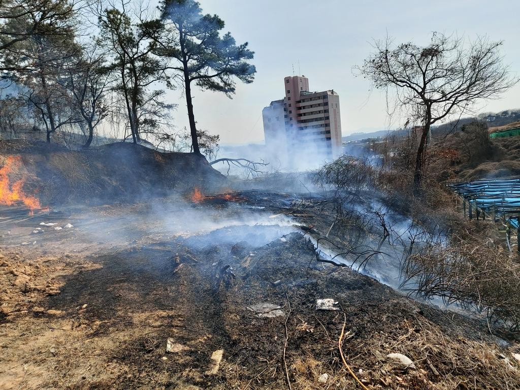 뚝 떨어진 기온…충북 곳곳서 화재 잇달아