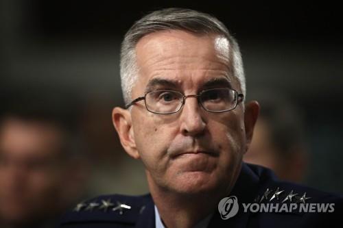 """美합참차장 """"미사일방어, 중국·러시아·이란 아닌 북한에 초점"""""""