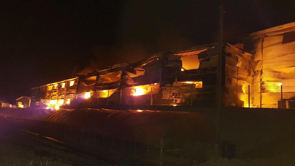 남양주 식품 창고서 불…1억9천만원 피해