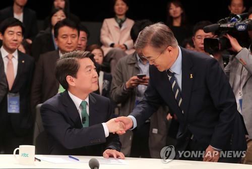 """안철수 """"문대통령, 후보시절 '동성애 싫다' 혐오발언"""""""