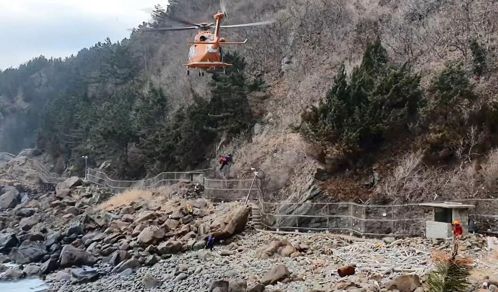 삼척서 조업 중 실종된 60대 선장 9일 만에 숨진 채 발견