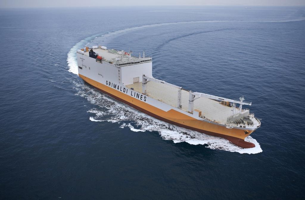 한국조선해양, 컨테이너-로로선 6척 5천700억원에 수주