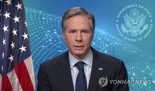 팬데믹에 발 묶인 블링컨 미 국무장관…전례없는 '버추얼 외교'