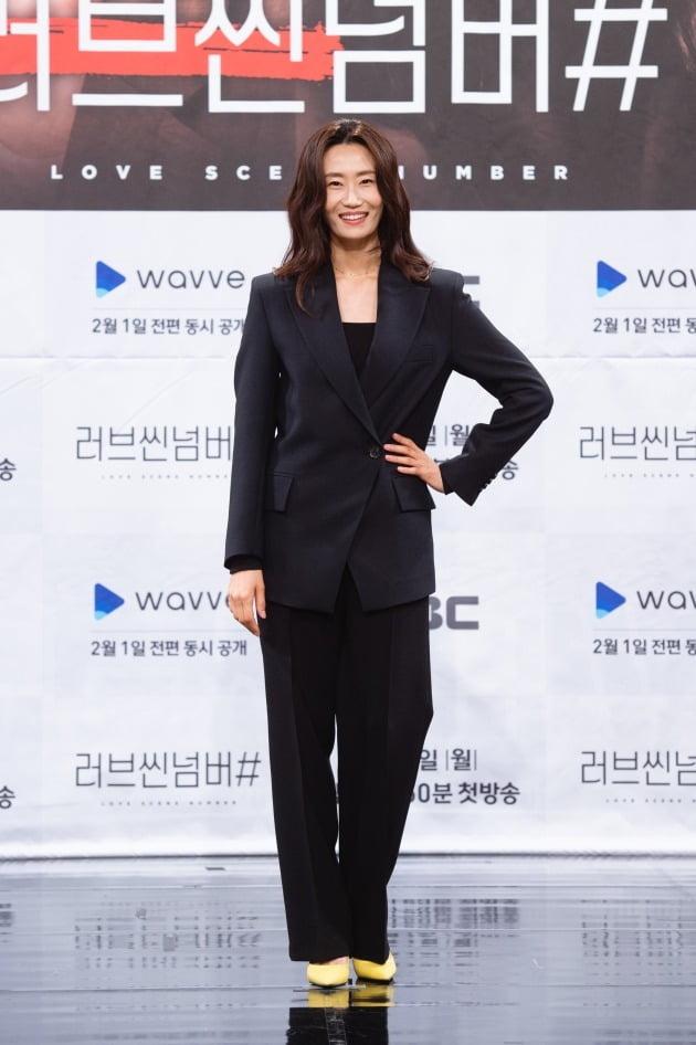 '러브씬넘버#' 배우 김영아./사진제공=웨이브, MBC