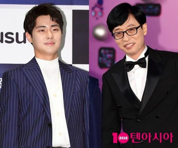 배우 조병규(왼쪽), 개그맨 유재석/ 사진=텐아시아DB