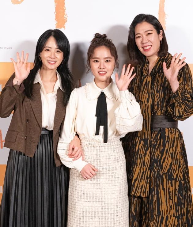 영화 '아이' 류현경, 김향기, 염혜란./ 사진제공=롯데엔터테인먼트