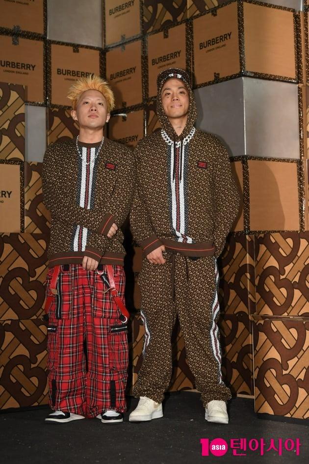래퍼 나플라(왼쪽)과 루피/ 사진 = 텐아시아 사진DB